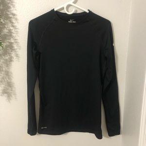 Nike Pro Combat Compression Long Sleeve Black